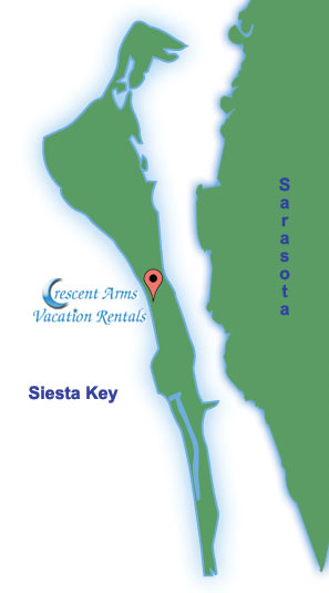 Siesta Keys Map